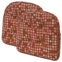 Klear Vu Dotty DelightFill 2-Pack Chair Cushions