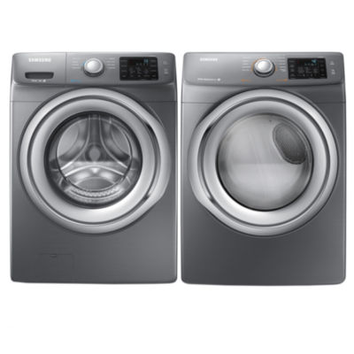 Samsung Front Load 2 Pc. Electric Washer And Dryer Set