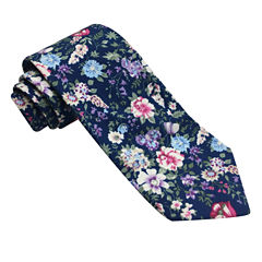 Stafford Fall Cotton Florals Floral Tie