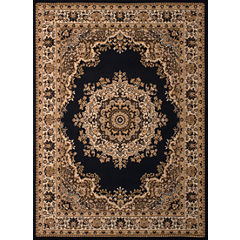 United Weavers Dallas Collection Floral Kirman Rectangular Rug