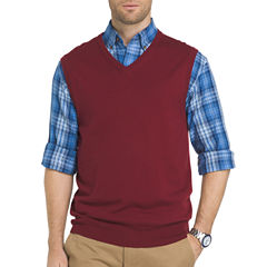 IZOD V Neck Sweater Vest Big and Tall