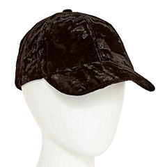City Streets Crushed Velvet Baseball Cap