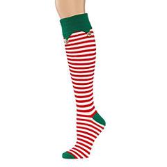 1 Pair Knee High Socks - Womens