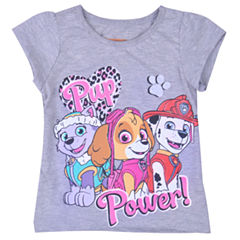 Nickelodeon Paw Patrol Graphic T-Shirt-Toddler Girls