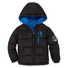 Us Polo Assn. Heavyweight Puffer Jacket - Boys-Preschool