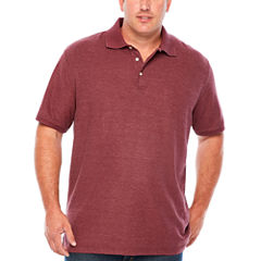The Foundry Big & Tall Supply Co. Easy Care Short Sleeve Polo Shirt Big and Tall