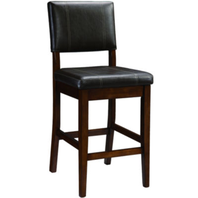 triena milano upholstered barstool with back