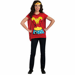 Wonder Woman T-Shirt Adult Costume Kit