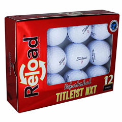 12 Pack Titleist NXT Refinished Golf Balls.