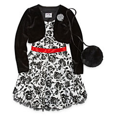 American Princess Sleeveless Party Dress - Preschool Girls