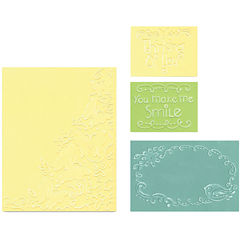 Sizzix® Textured Impressions™ 4-pc. Butterfly Migration Embossing Set