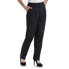 Lee® Side-Elastic Straight-Leg Twill Pants
