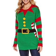 Tiara Elf Round Neck Sweater