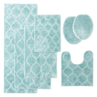 Elegant JCPenney Home™ Bri Bath Rug Collection