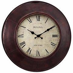 Bulova Champagne Wall Clock-C4825