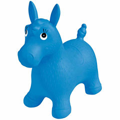 Blue Pony Bouncer Playground Balls