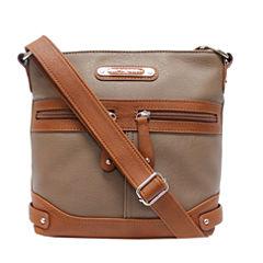 Rosetti Triple Play Sage Mini Crossbody Bag