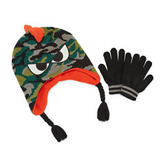 Yeti Hat & Glove Set - Boys Preschool 4-7