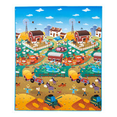 Prince Lionheart® Reversible playMAT - City/Farm
