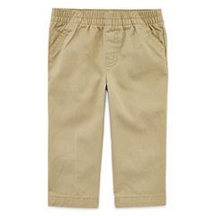 Okie Dokie® Twill Pants - Baby Boys newborn-24m