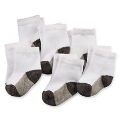 Okie Dokie® 6-pk Socks - Baby Boys newborn-24m
