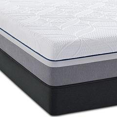 Sealy® Posturepedic® Premier Hybrid Cobalt Firm - Mattress + Box Spring