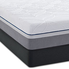 Sealy® Posturepedic® Premier Hybrid Silver Plush - Mattress + Box Spring