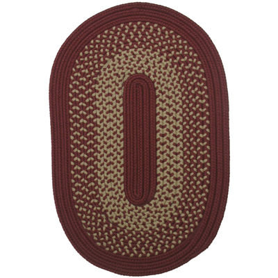 colonial mills houston reversible braided oval rug