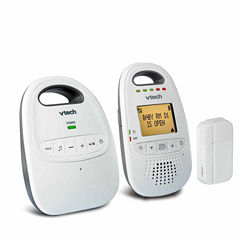 VTech DM251-102 Safe and Sound DECT 6.0 Digital Audio Baby Monitor with Open/Close Sensor