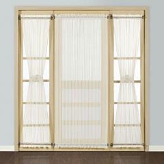 United Curtain Co. Batiste Rod-Pocket Door Panel