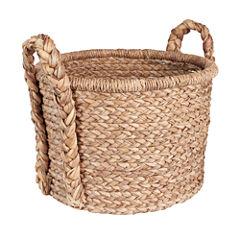 Household Essentials Wicker Floor Basket