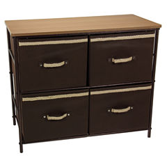 Household Essentials® 2-Shelf Storage Bin
