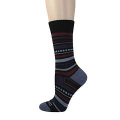 Dickies® Womens Wool-Blend Striped Crew Socks