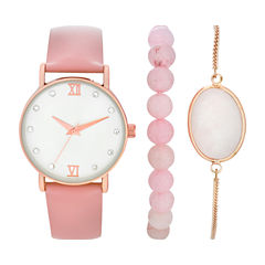 Womens Rose Goldtone Watch Boxed Set-Wac5267jc