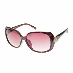 Bisou Bisou Square UV Protection Sunglasses-Womens