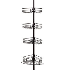 Zenna Home Tension Corner Pole Shower Caddy