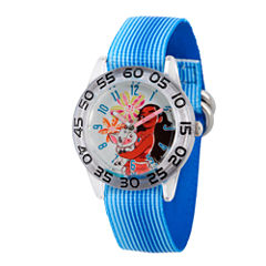Disney Moana Girls Blue Strap Watch-Wds000044