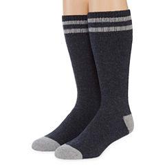 Columbia® Mens 2-pk. Cushioned Boot Crew Socks