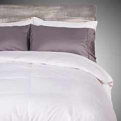 Allied Home Deluxe White Down Midweight Reversible Comforter