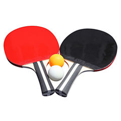 Hathaway Single Star Control Spin Table Tennis 2-Player Racket & Ball Set