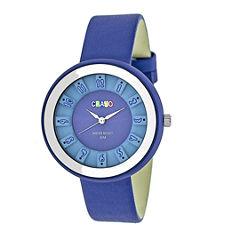 Crayo Unisex Blue Strap Watch-Cracr3406