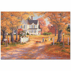 Educa® 1500-Pc. Autumn Leaves & Laughter Puzzle