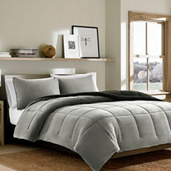 Eddie Bauer® Reversible Premium Fleece Chrome Comforter Set