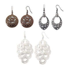 Arizona 3 Pair Earring Sets