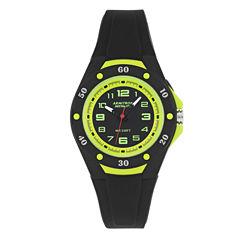 Armitron Womens Black Strap Watch-25/6428blg