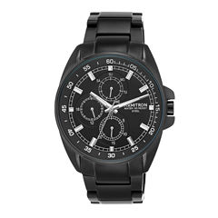 Armitron All Sport Mens Black Watch Boxed Set-20/5224bkti