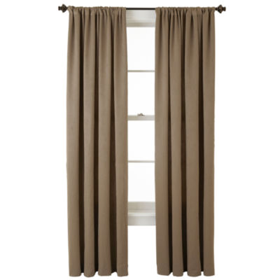 home expressions cassidy rodpocket curtain panel - Room Darkening Curtains