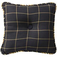 HiEnd Accents Ashbury Plaid Decorative Pillow