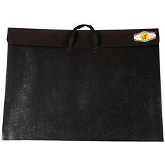 Dura-Tote Classic Black Poly Portfolio