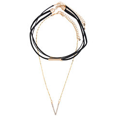 a.n.a Womens Choker Necklace